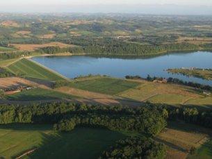 Photo du Barrage de la Gimone