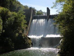 Photo du Barrage de Castillon sur Lez