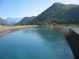 Photo du Barrage de Curbans