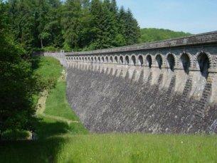 Photo du Barrage de Saint Sernin