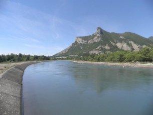 Photo du Barrage du canal de Sisteron