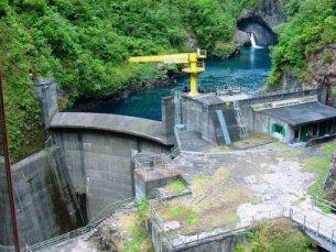 Photo du Barrage de Takamaka 2