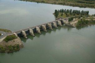 Photo du Barrage de Vallabregues