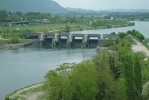 Photo du Barrage de Villebois