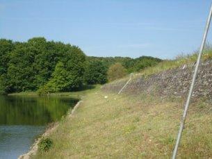 Photo du Barrage de l'Étang de Pirot