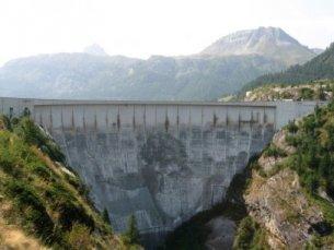 Photo du Barrage de Tignes