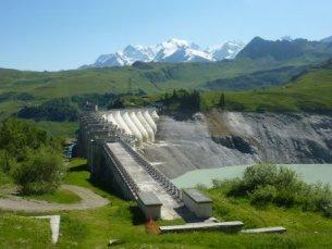 Photo du Barrage de la Girotte