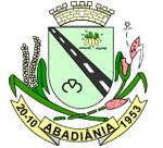 Brasão del município de Abadiânia
