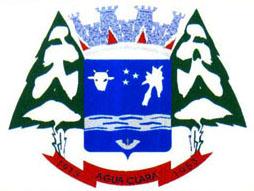 Brasão del município de Água Clara