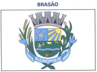 Brasão del município de Alcinópolis