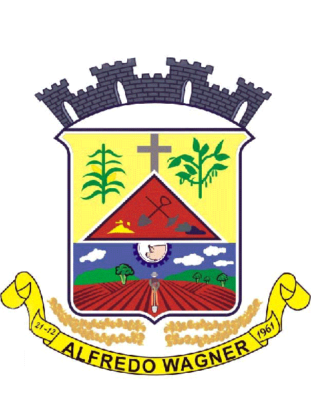 Brasão del município de Alfredo Wagner