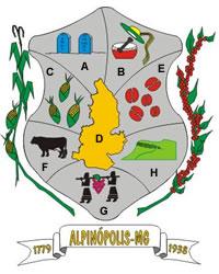 Brasão del município de Alpinópolis