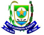 Brasão del município de Alta Floresta d'Oeste
