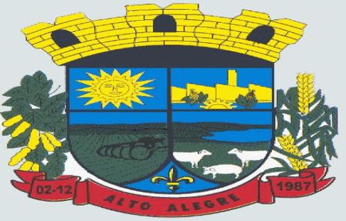 Brasão del município de Alto Alegre