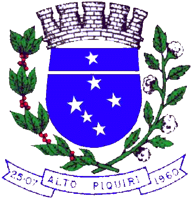 Brasão del município de Alto Piquiri
