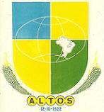 Brasão del município de Altos
