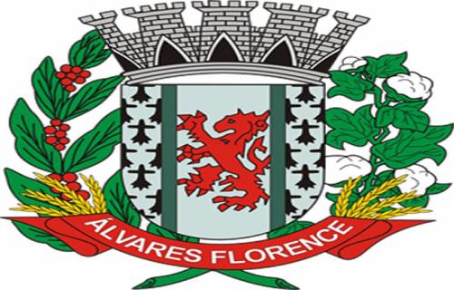 Brasão del município de Álvares Florence