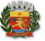 Brasão del município de Alvinlândia