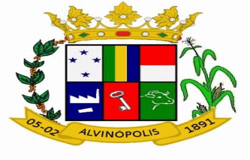 Brasão del município de Alvinópolis