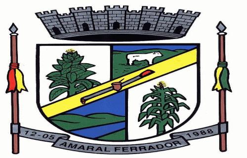 Brasão del município de Amaral Ferrador