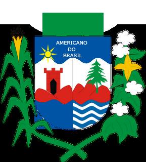Brasão del município de Americano do Brasil