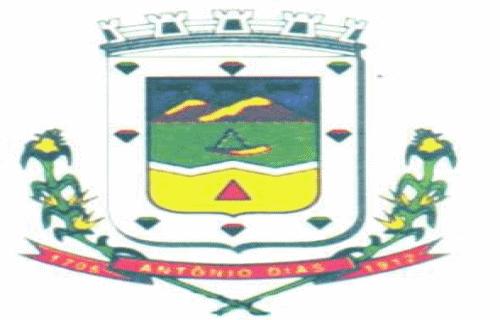 Brasão del município de Antônio Dias