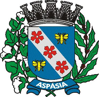 Brasão del município de Aspásia