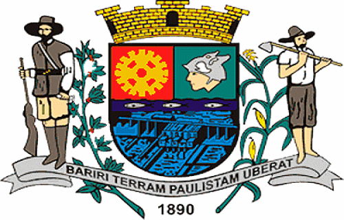 Brasão del município de Bariri
