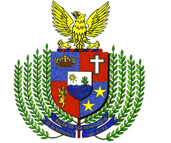 Brasão del município de Belém do São Francisco