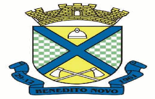 Brasão del município de Benedito Novo