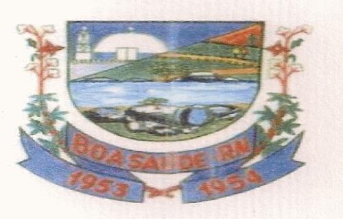 Brasão del município de Boa Saúde