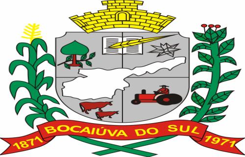 Brasão del município de Bocaiuva do Sul