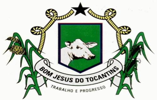 Brasão del município de Bom Jesus do Tocantins