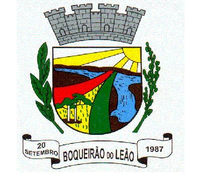 Brasão del município de Boqueirão do Leão