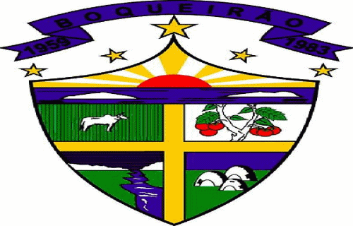 Brasão del município de Boqueirão