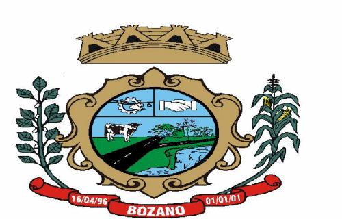 Brasão del município de Bozano
