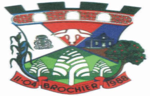 Brasão del município de Brochier