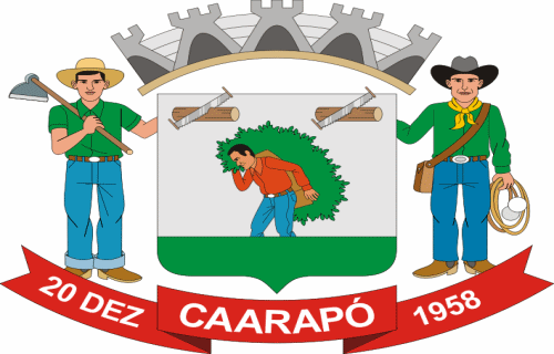 Brasão del município de Caarapó