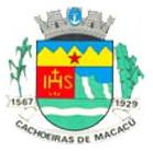 Brasão del município de Cachoeiras de Macacu