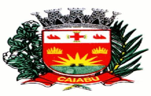 Brasão del município de Caiabu