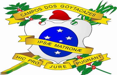 Brasão del município de Campos dos Goytacazes