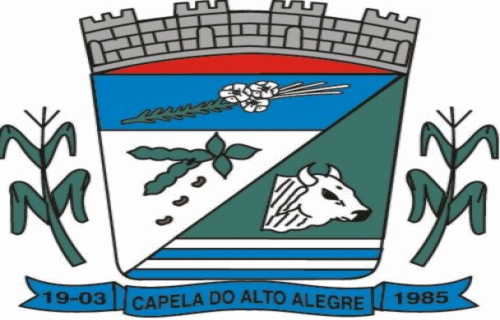 Brasão del município de Capela do Alto Alegre
