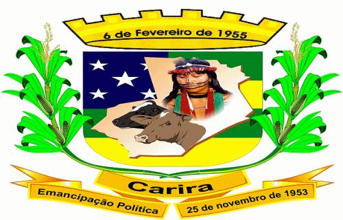 Brasão del município de Carira