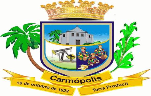 Brasão del município de Carmópolis