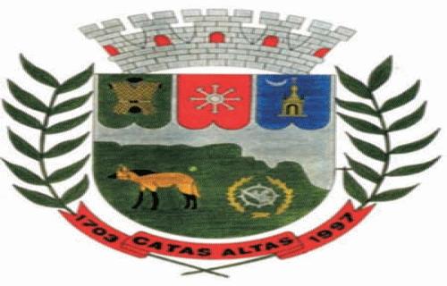 Brasão del município de Catas Altas