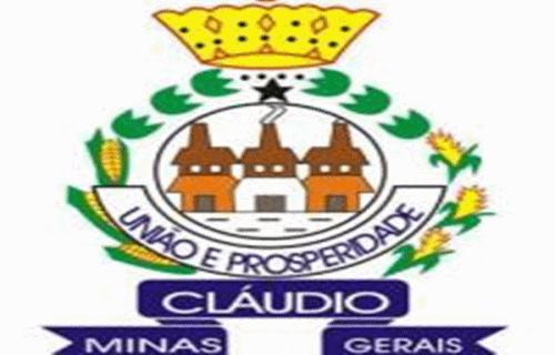Brasão del município de Cláudio