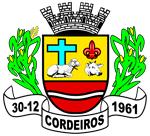 Brasão del município de Cordeiros