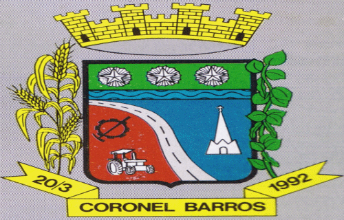 Brasão del município de Coronel Barros
