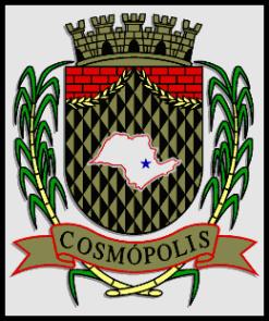 Brasão del município de Cosmópolis