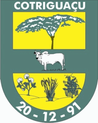 Brasão del município de Cotriguaçu